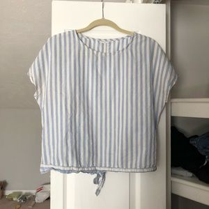 SALE ✨Striped Top with Tie | ASOS